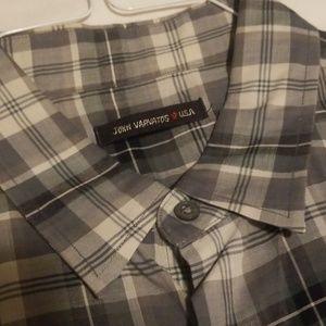 John Varvatos Shirts - John Varvatos USA l/s dress shirt